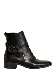 SEE BY CHLOE BELTED CALFSKIN BOOTS