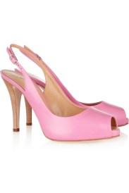 Giuseppe Zanotti Leather peep-toe pumps