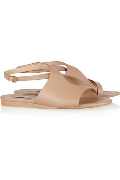 Stella McCartney Cutout faux-leather sandals