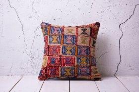 Bohemian Kilim Print Pillow