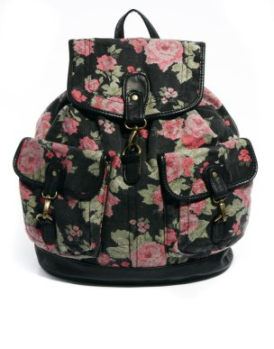 New Look Tapestry Floral Backpack