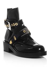 Balenciaga The cut-out ankle boots