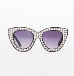 Pixie Market Houndstooth Sunglasses