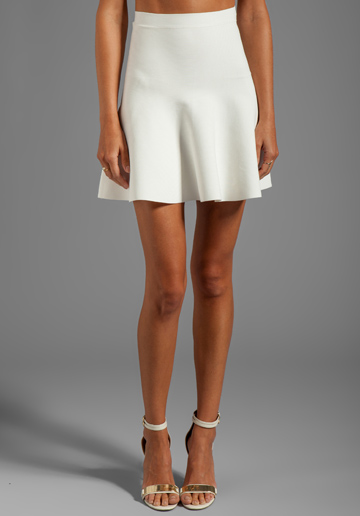 BCBG Max Azria Fit and Flare Skirt