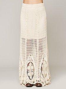 Free People Mi Amore Maxi Skirt
