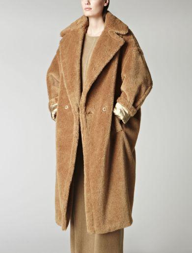 MaxMara Alpaca and mohair teddybear coat