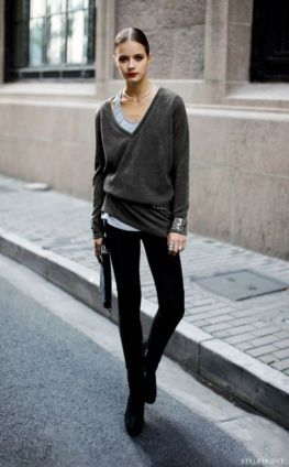 belt over sweater loose
