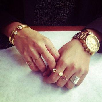 gold watch instagram
