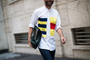 Men's Fashion Week Street Style 37