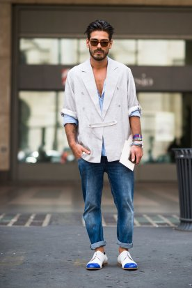 Men's Fashion Week Street Style 4