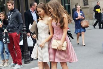 Paris Couture Fashion Week Fall 2014 street style 17