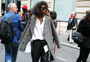 Paris Couture Fashion Week Fall 2014 street style 19