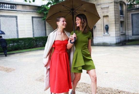 Paris Couture Fashion Week Fall 2014 street style 22