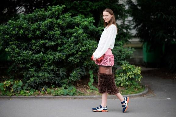 Paris Couture Fashion Week Fall 2014 street style 23