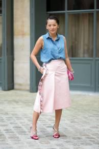 Paris Couture Fashion Week Fall 2014 street style 31