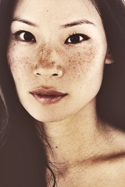 lucy lui freckles