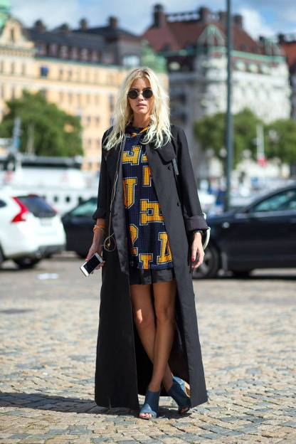 Stockholm Fashion Week Street Style 19