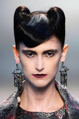 Halloween Makeup Inspiration From Runway | Antonio Marras FW2014