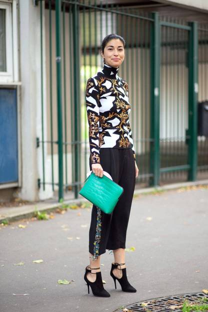 Best of Paris Fashion Week SS15 Street Style 69