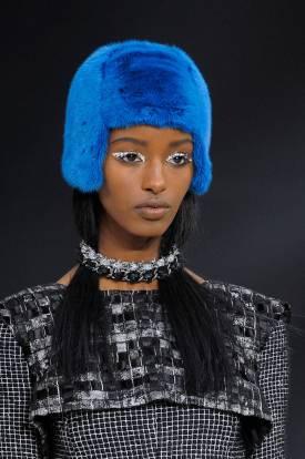 Halloween Makeup Inspiration From Runway | Chanel fall 2013