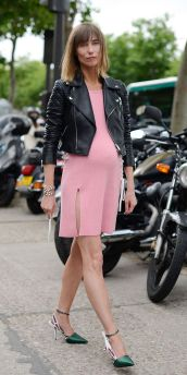 fashion week maternity style
