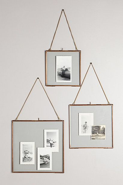 Alternative Photo Framing Ideas