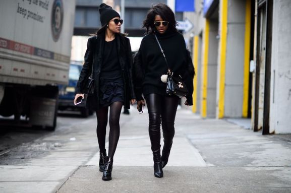 NYFW fall 2015 streetstyle unicolor 5