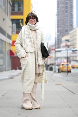 NYFW fall 2015 streetstyle unicolor 7a