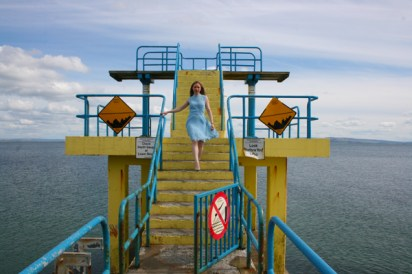 Daydream in Blue at Salthill