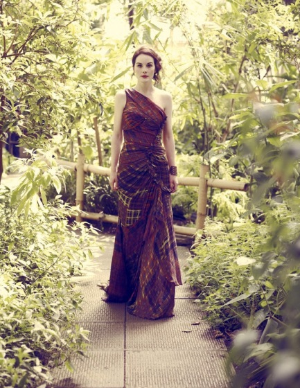 Michelle Dockery photographed by Jason Bell for Vogue UK August 2011_2