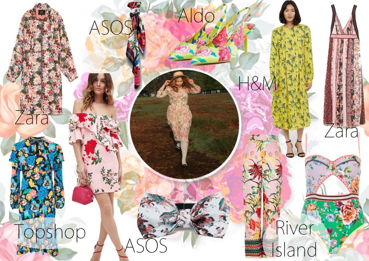Spring/Summer 2018 Trends – 2. Vintage Florals