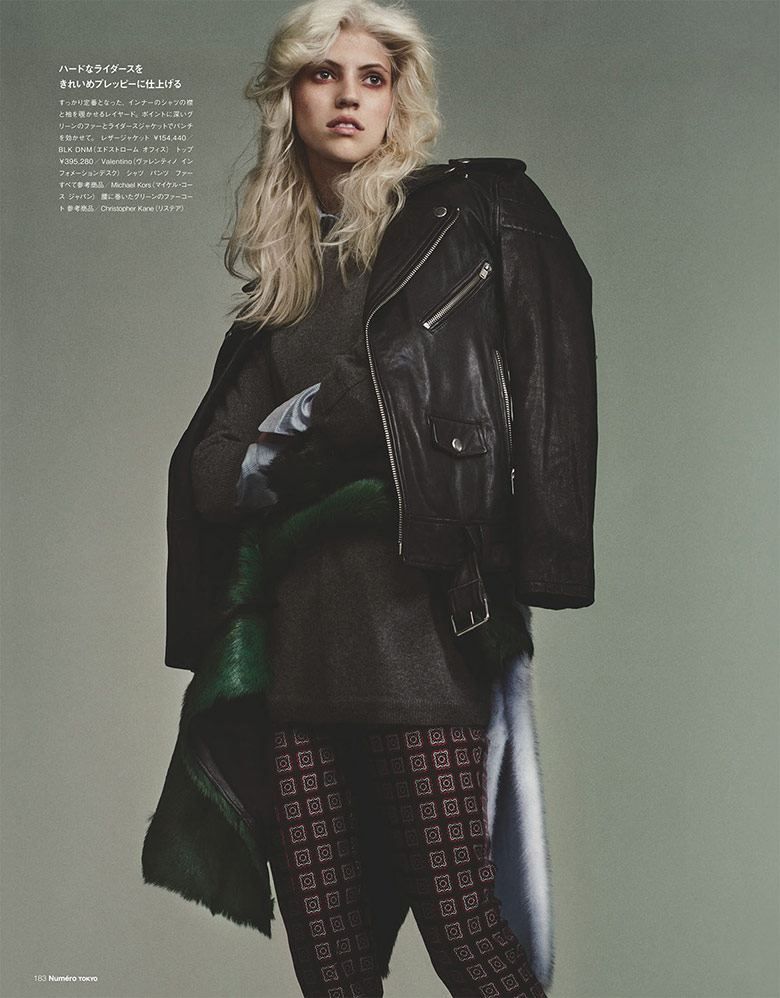 Devon Windsor by Benjamin Lennox For Numero Tokyo July/August 2014