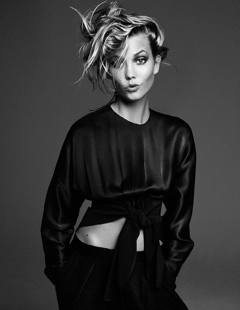 Karlie Kloss by Alique for Vogue Netherlands October 2014