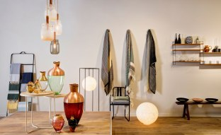 The space stocks myriad international designers, from stationary by Akoto, to Bunad blankets from Andreas Engesvik and ornamental glassware from Dechem