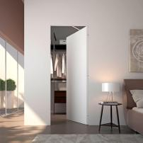 The Myth 'Flush' doors are a unique set of panels. The seamless doors are installed without an exposed frame. The customizable panels are available in raw, wood, and lacquer finishes. The 'Flush' series includes an automatic closing door option. mito.it