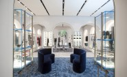 The new-look interiors have been entrusted to Italian architect Roberto Baciocchi who has introduced a classic yet contemporary visual aesthetic focused around Italian arches and a soft lilac and blue palette. 'The arches are an architectural and structural element but are still very soft here, like the lighting,' he says.