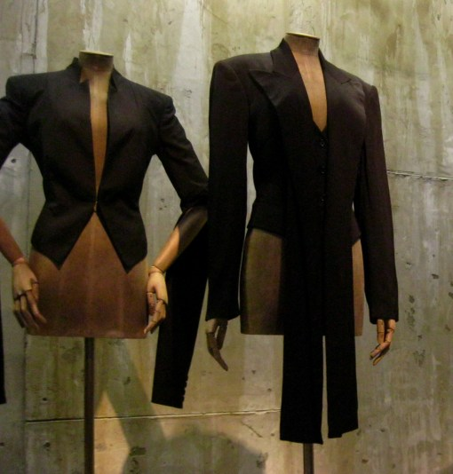 """Alexander McQueen tailored jackets from the """"Savage Beauty"""" exhibition tour (2015)"""