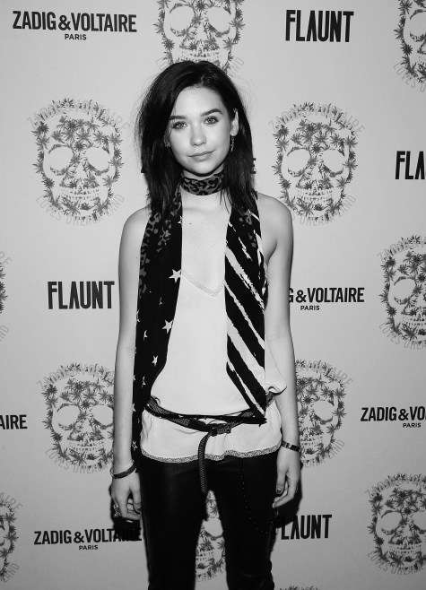 LOS ANGELES, CA - OCTOBER 27: Amanda Steele attend the Zadig & Voltaire and Flaunt Celebration of The FW16 Collection and The Oh La La Land Issue: Ouest Coast at Zadig & Voltaire on October 27, 2016 in Los Angeles, California. (Photo by Jesse Grant/Getty Images for Flaunt Magazine)
