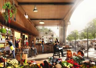 Ré-alimenter Masséna by award winning architect Lina Ghotmeth