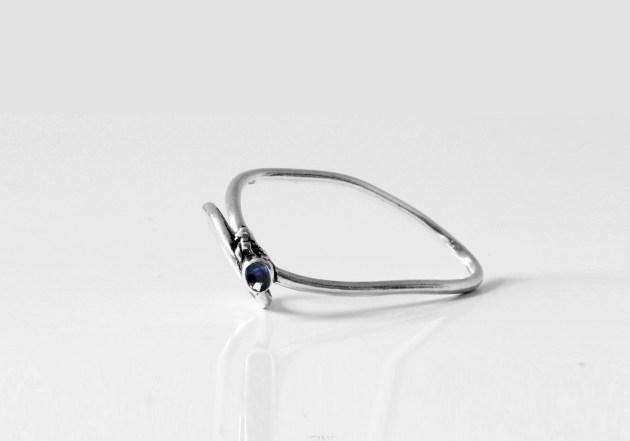 "Vanesi ""Vein"" ring in silver"
