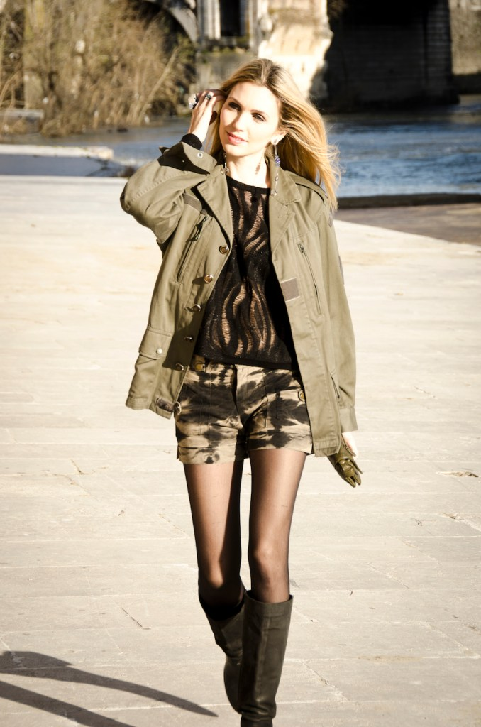 "military jacket ""The Fashion Screen"""