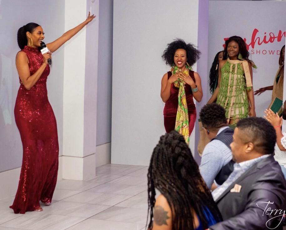 Plant-Based Custom Designer Wins  Grand Prize At Houston's Fashion Showdown