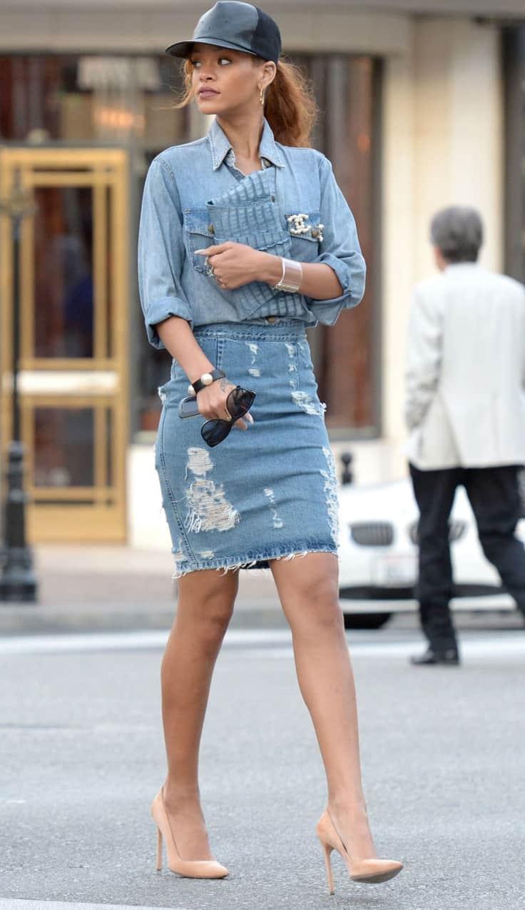 Kate Moss Knee High Boots
