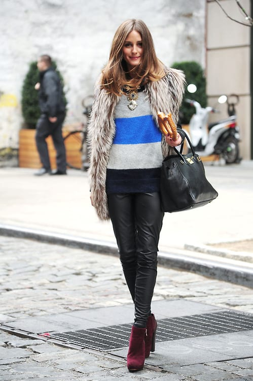 Olivia Palermo leaving a breakfast at the Crosby Hotel, New York, America - 11 Jan 2012