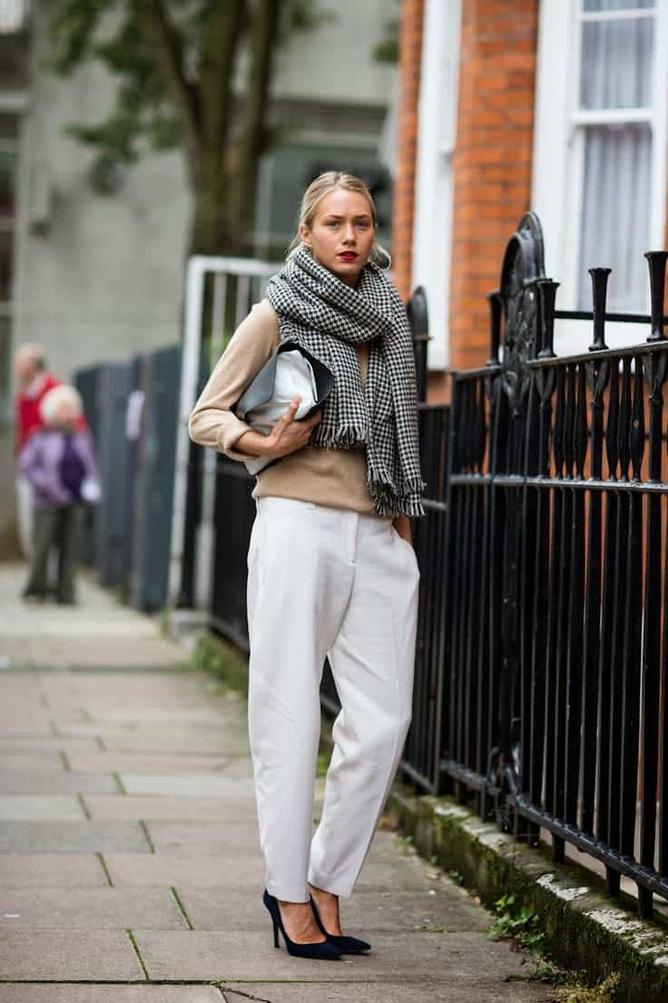 The Oversized SCARF Trend Alert