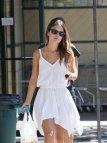 Rachel Bilson White Dress