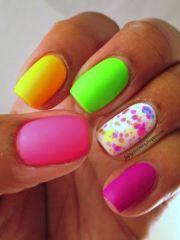 summer nails fashion tag