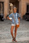 Outfits with Denim Button Down Shirts