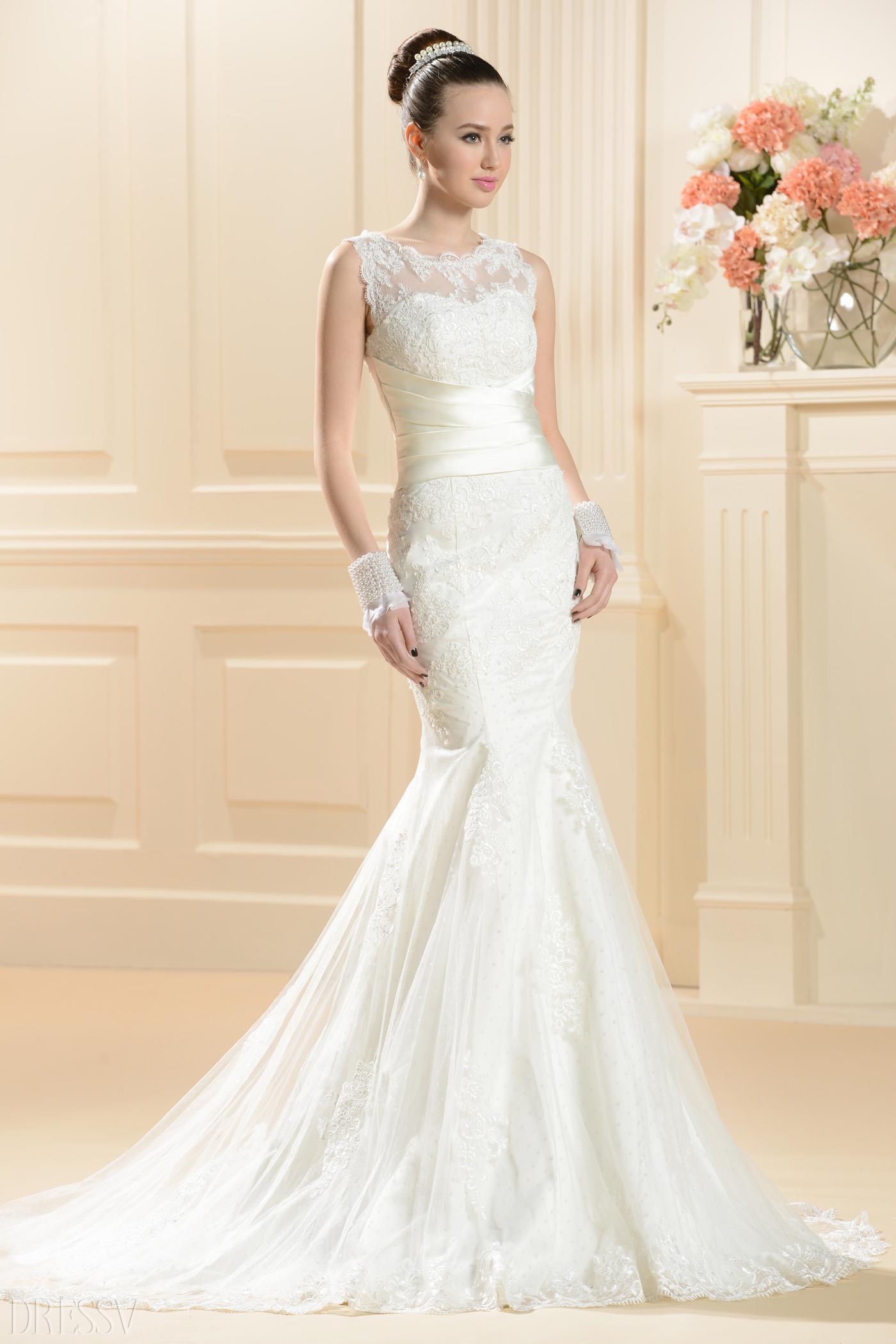 Are Mermaid Wedding Dresses A Trend?  Fashion Tag Blog