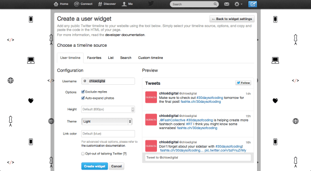 30 Widget with Tabs on Sidebar- Part Two with Twitter - The